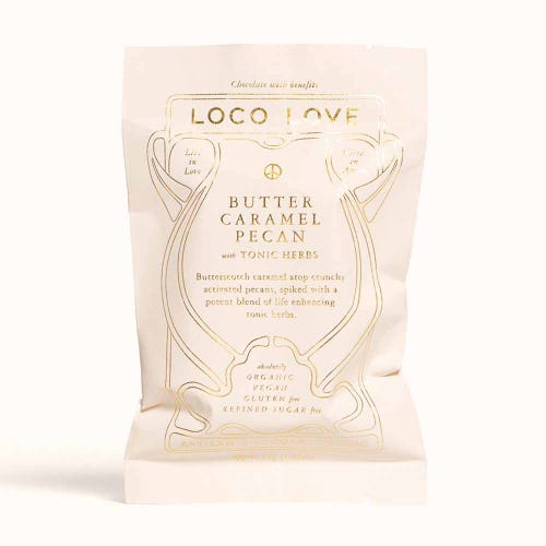 Loco Love Butter Caramel Pecan Chocolate (30g)