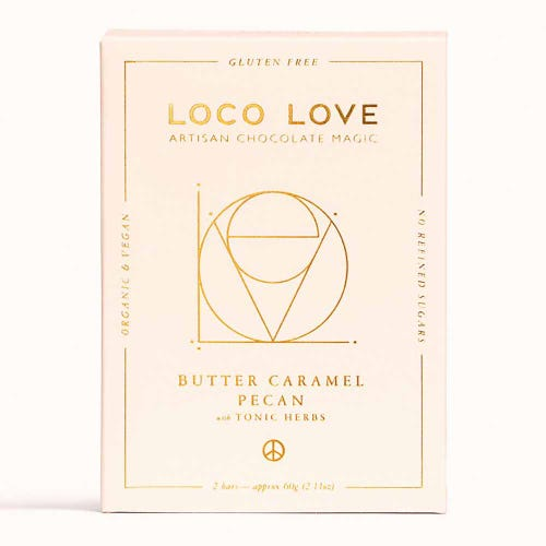 Loco Love Butter Caramel Pecan Chocolate Twin (60g)