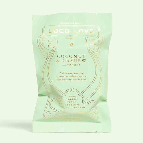 Loco Love Coconut & Cashew Chocolate (30g)
