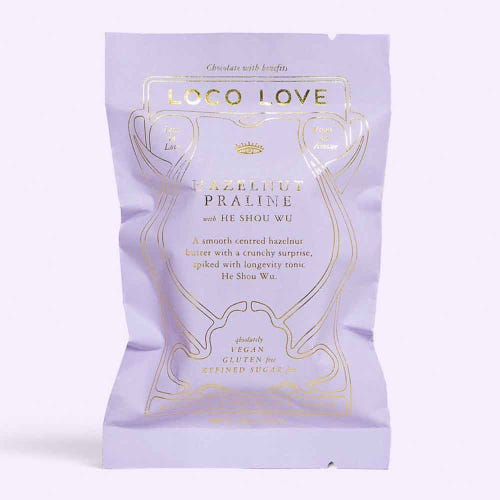 Loco Love Hazelnut Praline Chocolate (30g)