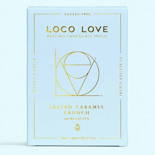 Loco Love Salted Caramel Crunch Chocolate Twin (60g)
