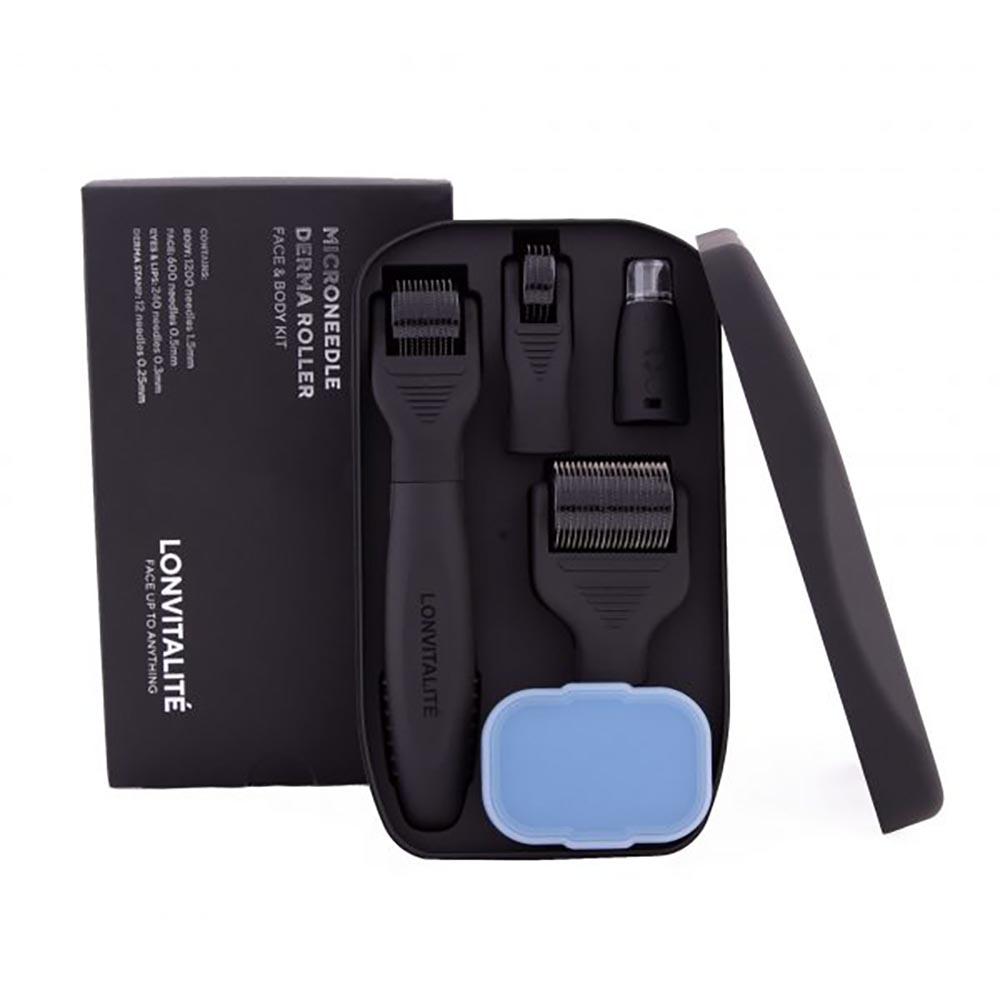 Lonvitalite Microneedle Derma Roller Face & Body Kit