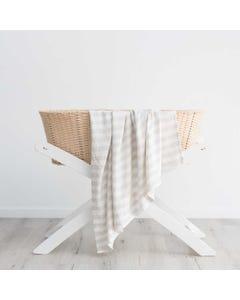 Love & Lee Bamboo Blanket - Grey