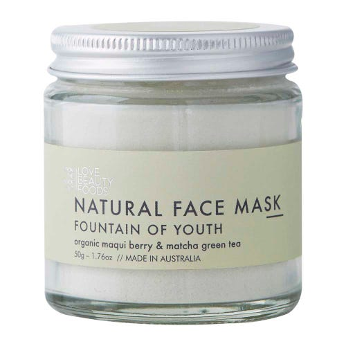 Love Beauty Foods Clay Face Mask Fountain of Youth
