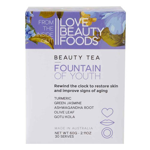 Love Beauty Foods Beauty Tea Fountain of Youth