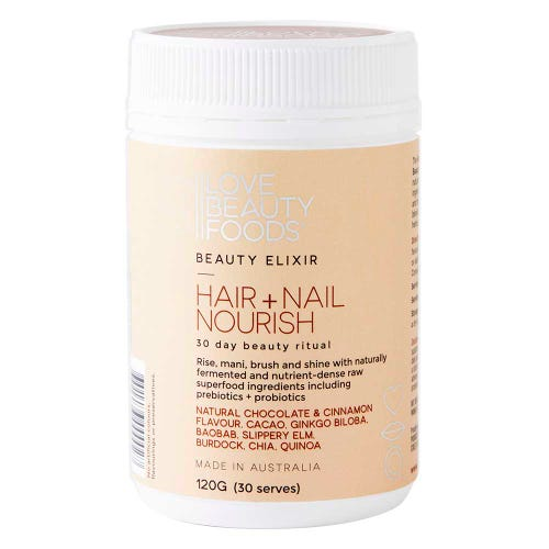 Love Beauty Foods Beauty Elixir Hair & Nail Nourish