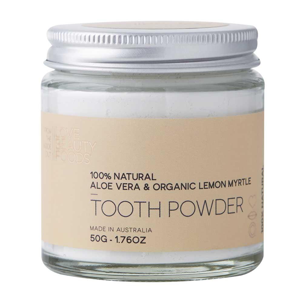 Love Beauty Foods Tooth Powder Aloe Vera & Lemon Myrtle