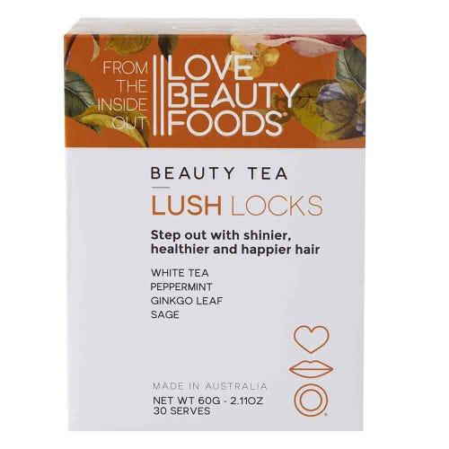 Love Beauty Foods Beauty Tea Lush Locks