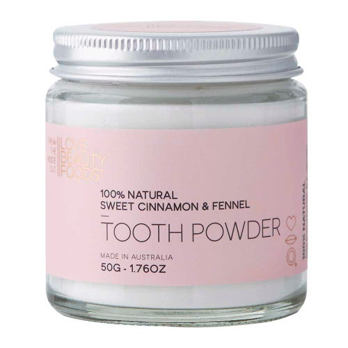 Love Beauty Foods Tooth Powder Cinnamon & Fennel