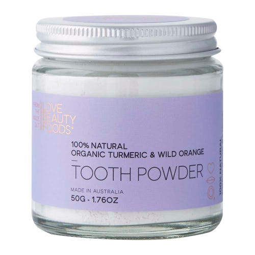 Love Beauty Foods Tooth Powder Turmeric & Wild Orange