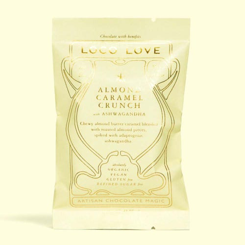 Loco Love Butter Almond Caramel Crunch Chocolate (30g)