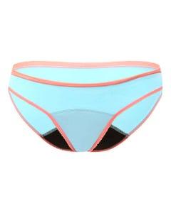 Love Luna First Period Bikini Brief Aqua/Watermelon | Flora & Fauna Australia