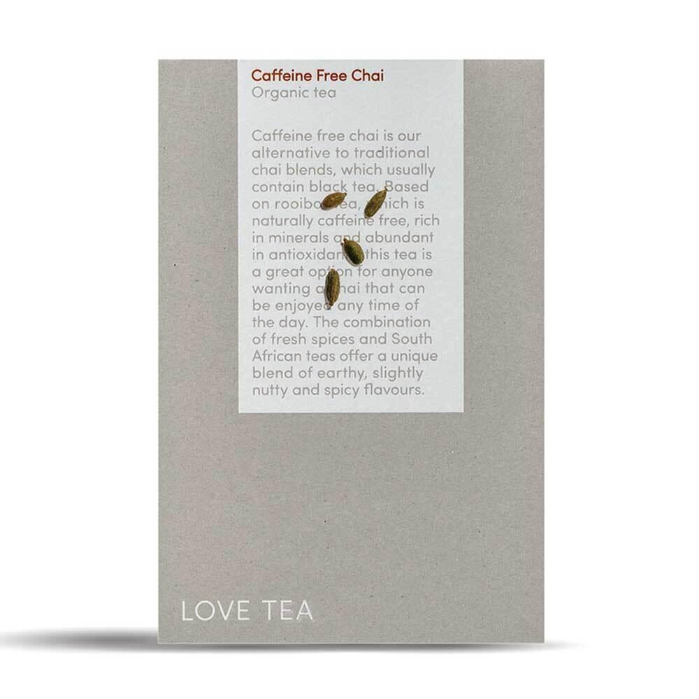 Love Tea - Caffeine Free Chai Pyramids (50)