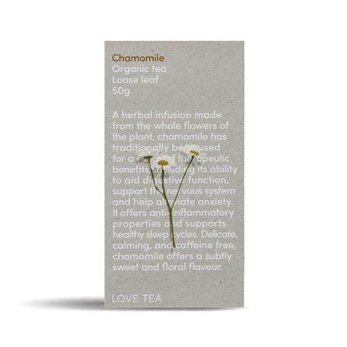 Love Tea - Chamomile Loose Leaf Tea (50g)