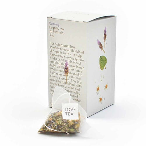 Love Tea - Calming Pyramid Tea Bags (20)
