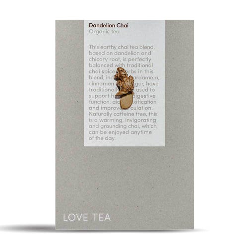 Love Tea - Dandelion Chai Loose Leaf Tea (500g)