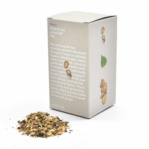 Love Tea - Detox Loose Leaf Tea (75g)