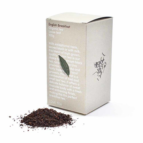 Love Tea - English Breakfast Loose Leaf Tea (100g)