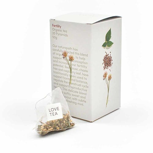 Love Tea - Fertility Pyramid Tea Bags (20)