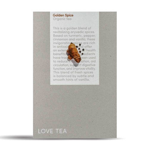 Love Tea - Golden Spice Caffeine Free Tea (250g)