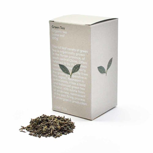 Love Tea - Green Loose Leaf Tea (100g)