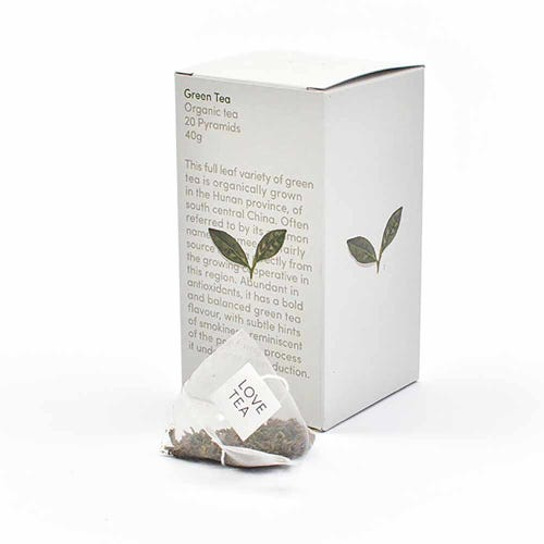 Love Tea - Green Tea Pyramid Bags (20)