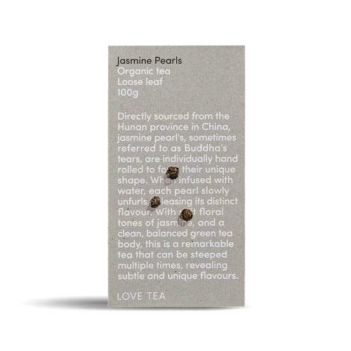 Love Tea - Jasmine Pearls Loose Leaf Tea (100g)