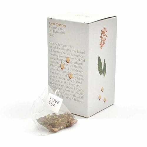 Love Tea - Liver Cleanse Pyramid Tea Bags (20)