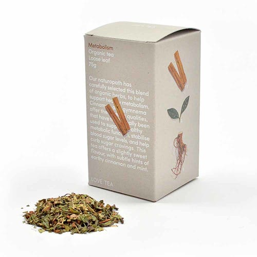 Love Tea - Metabolism Loose Leaf Tea (75g)