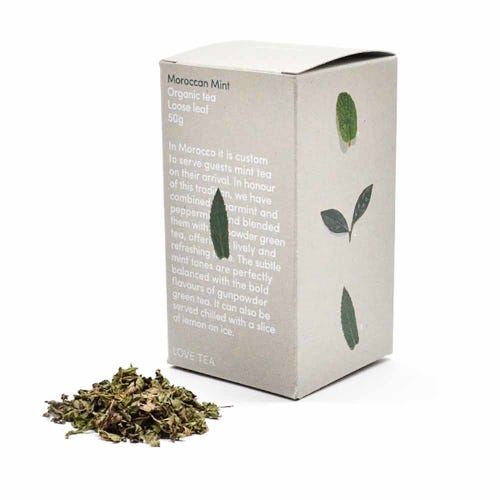 Love Tea - Moroccan Mint Loose Leaf Tea (50g)
