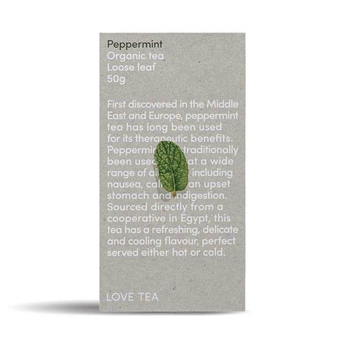 Love Tea - Peppermint Loose Leaf Tea (50g)