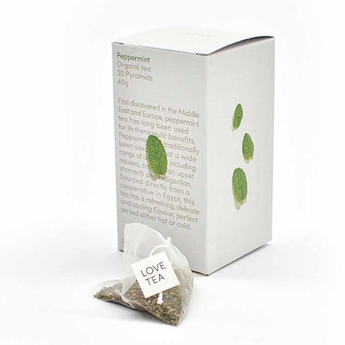 Love Tea - Peppermint Pyramids (20)