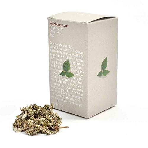 Love Tea - Raspberry Leaf Loose Leaf Tea (50g)