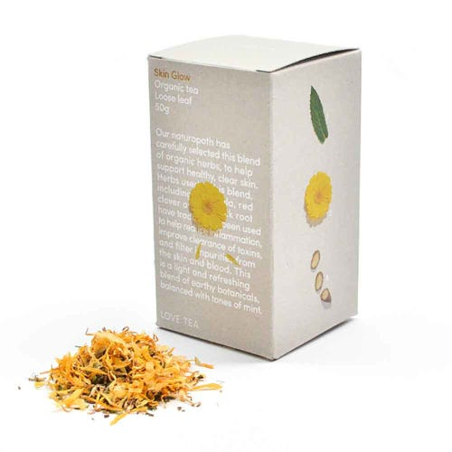 Love Tea - Skin Glow Loose Leaf Tea (50g)