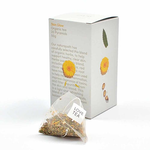 Love Tea - Skin Glow Pyramid Tea Bags (20)