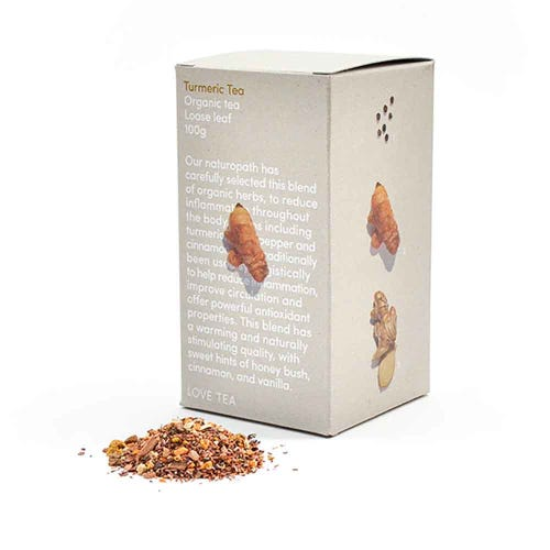 Love Tea - Turmeric Loose Leaf Tea (100g)