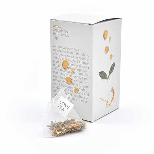 Love Tea - Vitality Pyramid Tea Bags (20)