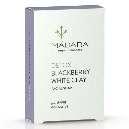 Madara Blackberry & White Clay Facial Soap (70g)