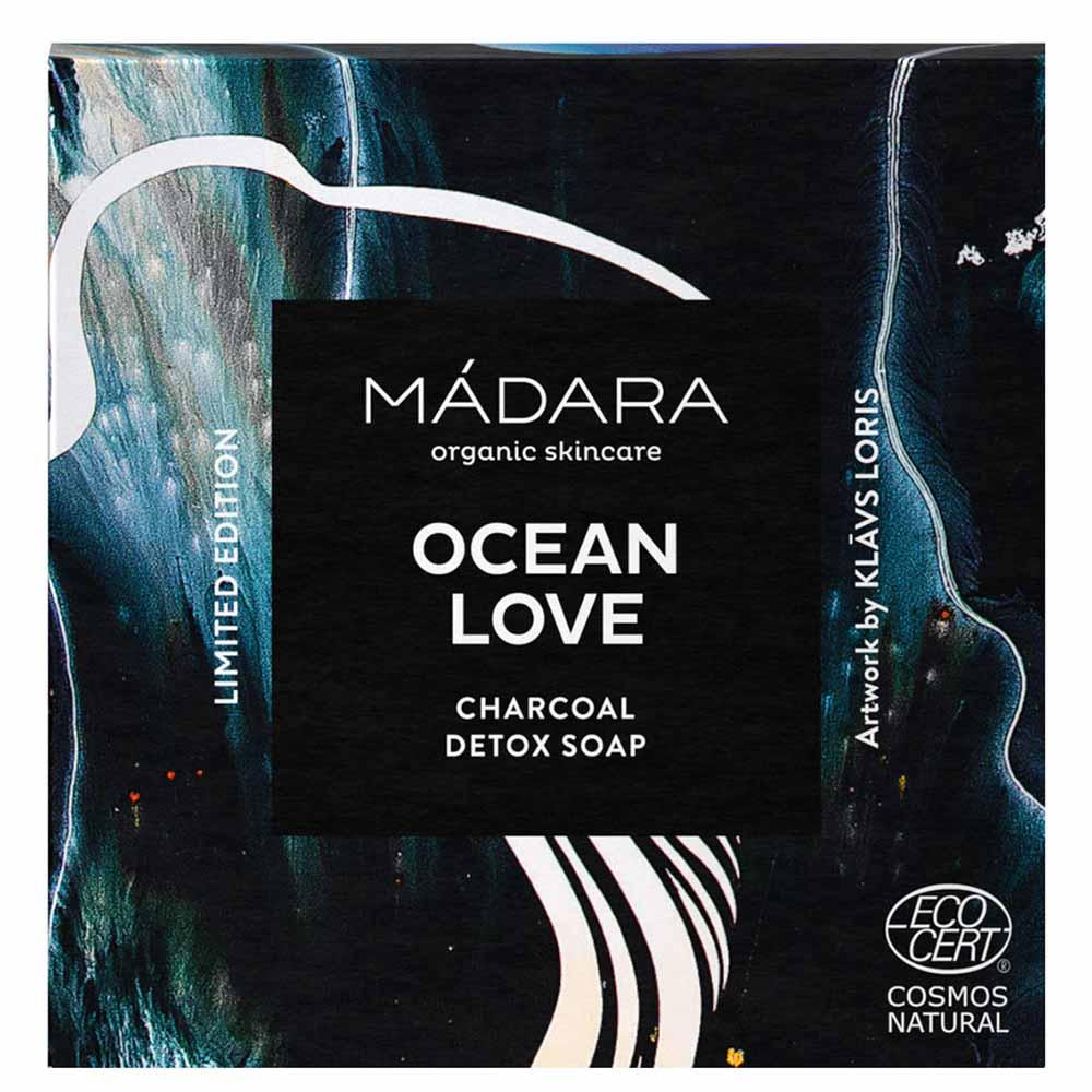 Madara Ocean Love Charcoal Detox Soap (90g)