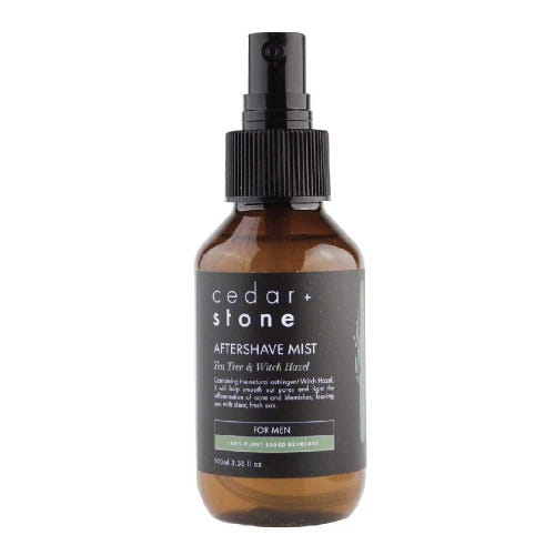 Cedar + Stone Tea Tree & Witch Hazel Aftershave Mist (100ml)