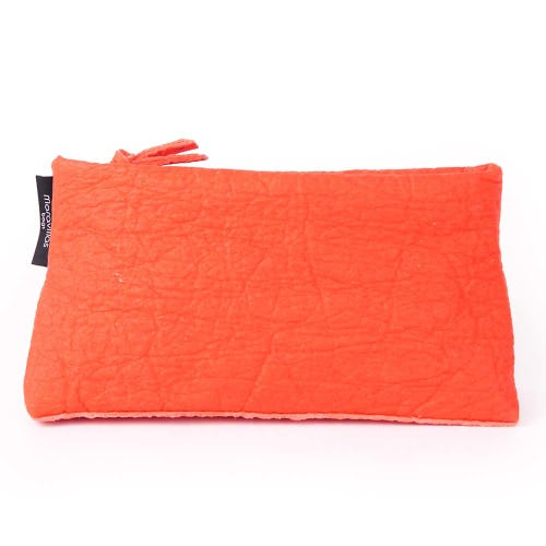 Maravillas Piñatex Pouch - Red