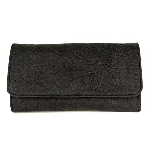 Maravillas Piñatex Wallet - Black