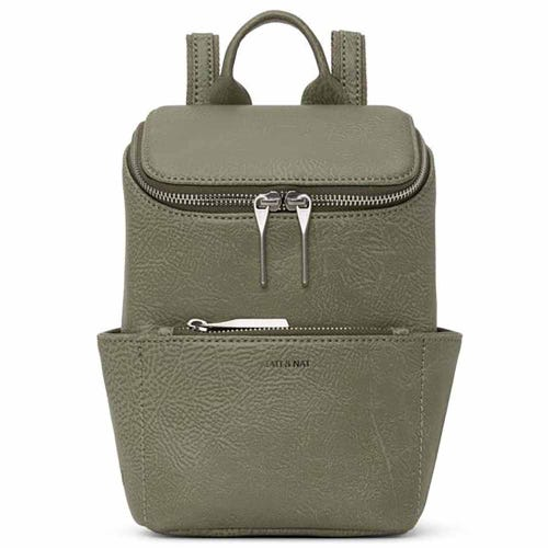 Matt & Nat Brave Mini Backpack - Matcha