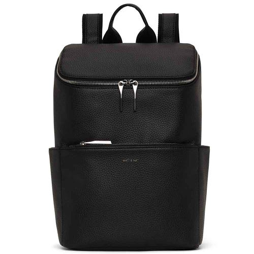 Matt & Nat Recycled Brave Backpack - Black