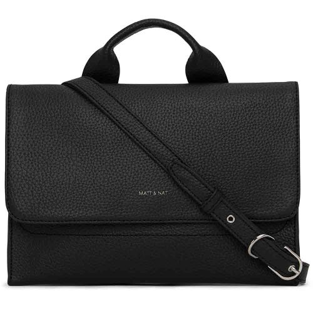 Matt & Nat Recycled Sira Crossbody Bag - Black