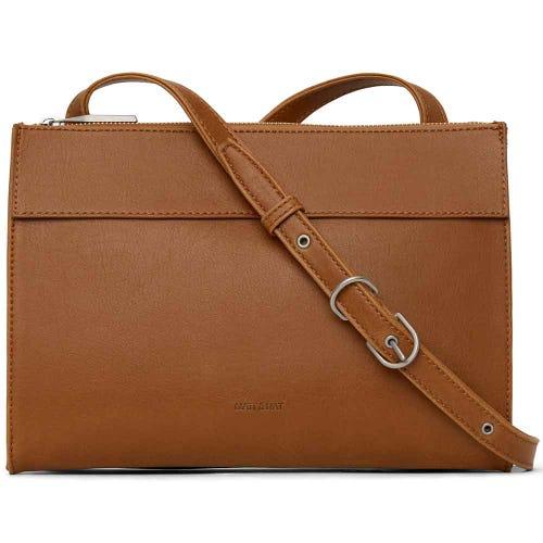 Matt & Nat Onra Shoulder Bag - Chilli Matte Nickel
