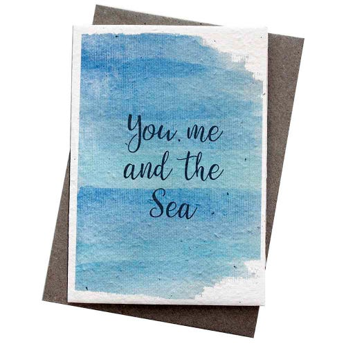 Hello Petal Seeded Card - You Me & The Sea
