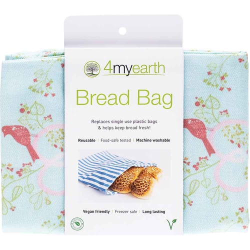 4MyEarth Bread Bag - Love Birds