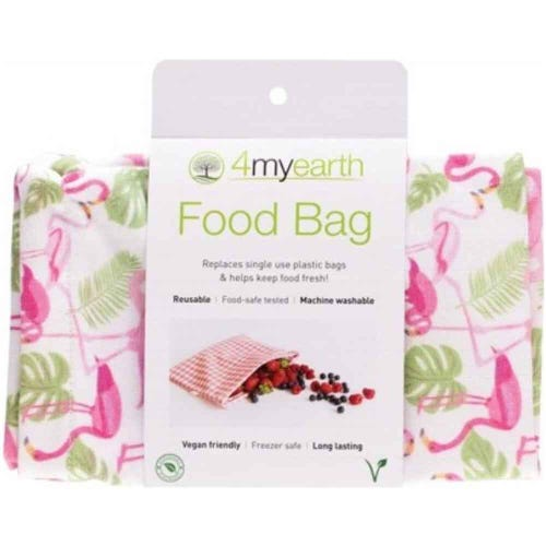4MyEarth Food Bag - Flamingoes