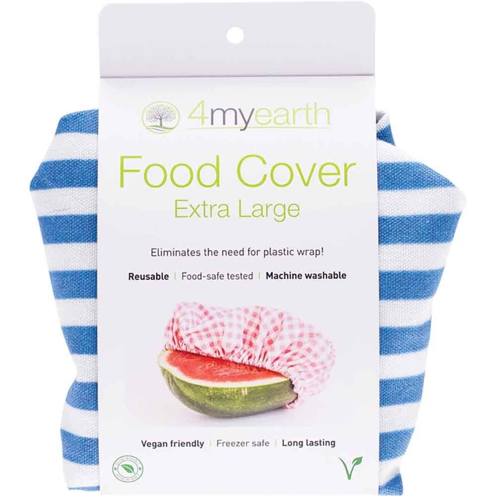 4MyEarth Food Cover XL - Denim Stripe